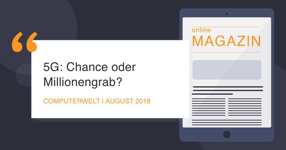 COCUS in der Computerwelt August 2018 Chance