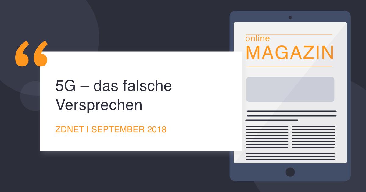 COCUS in der ZDNet September 2018 Datennetz