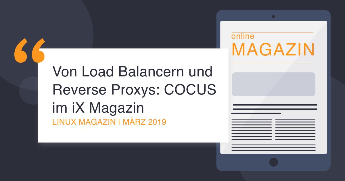 COCUS im Linux Magazin März 2019