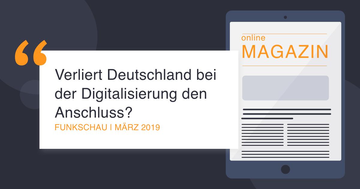 COCUS in der FUnkschau März 2019 Digitalisierung