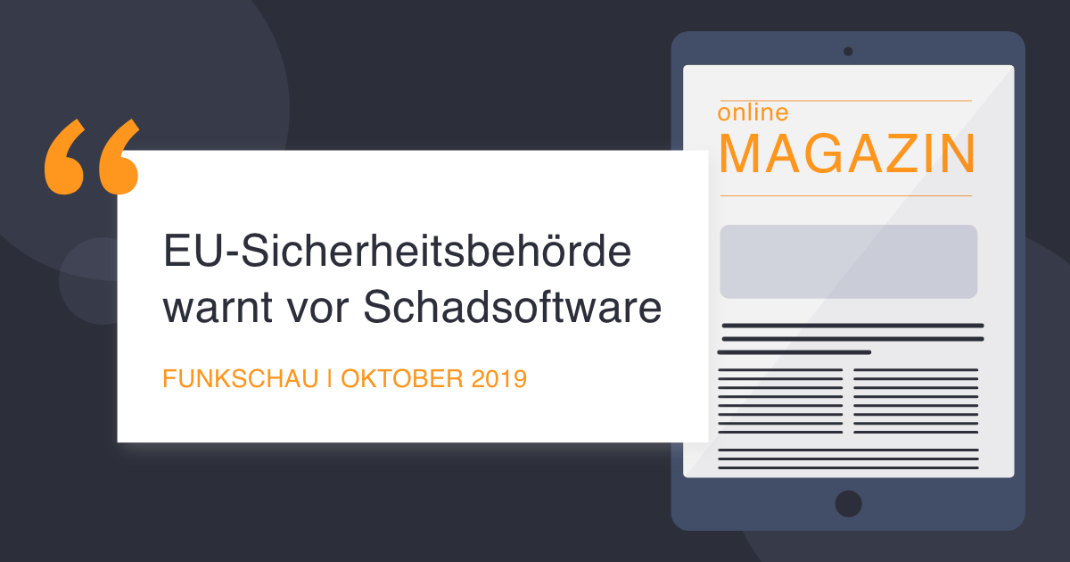 COCUS in Funkschau October 2019 EU Security warns