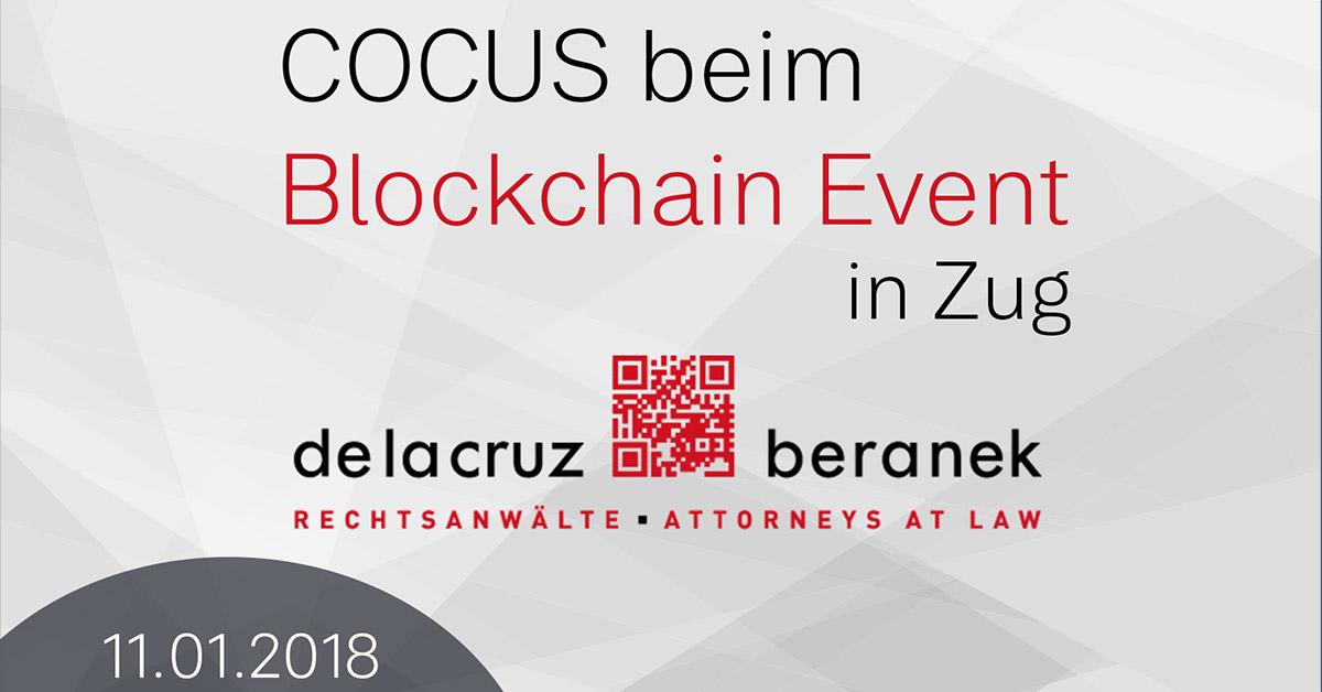 COCUS beim Blockchain Event in Zug