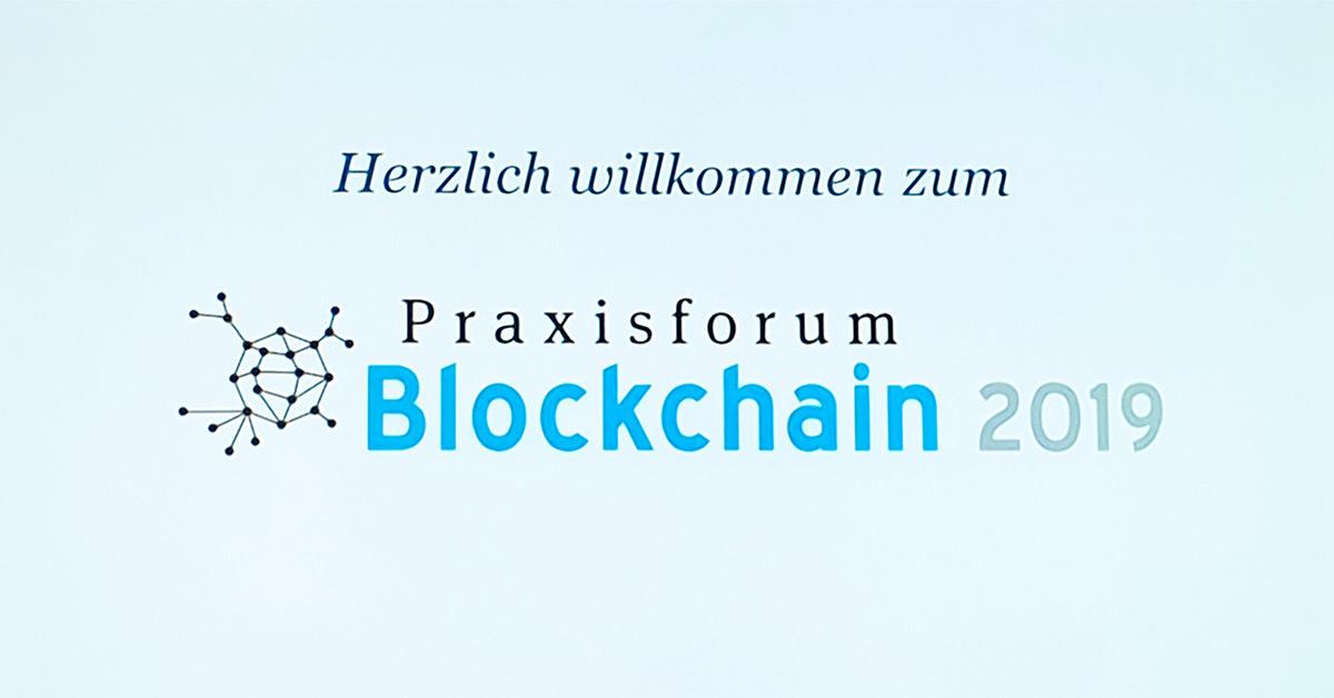 COCUS beim Praxisforum Blockchain