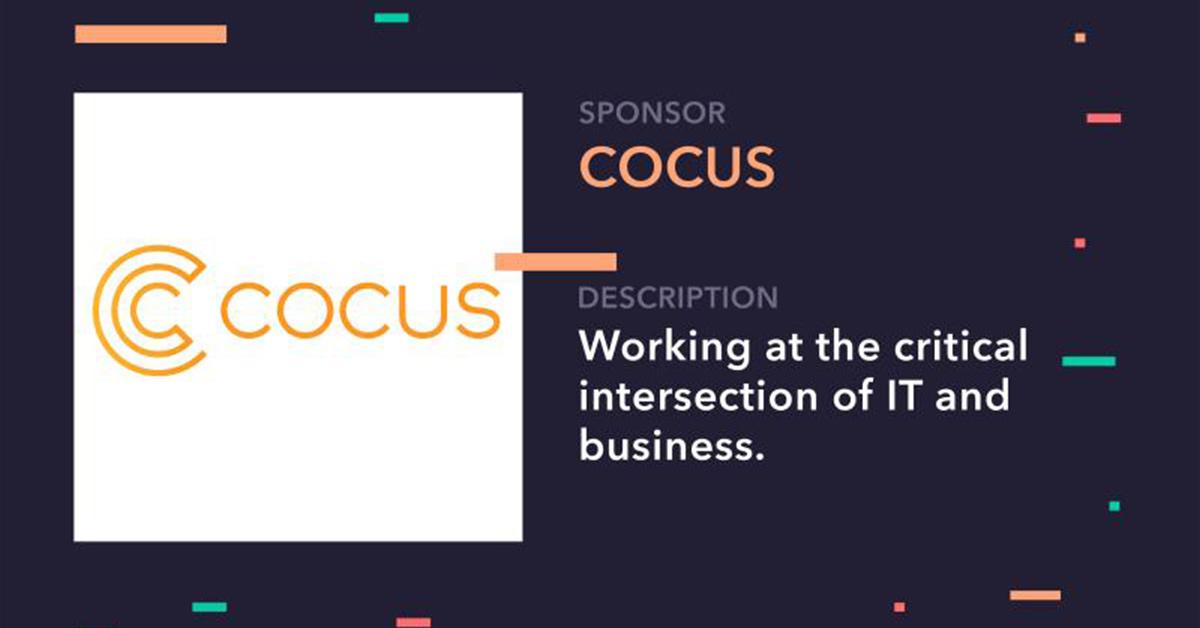 COCUS ist DSPT Sponsor