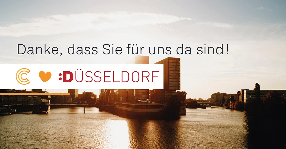 COCUS liebt Düsseldorf