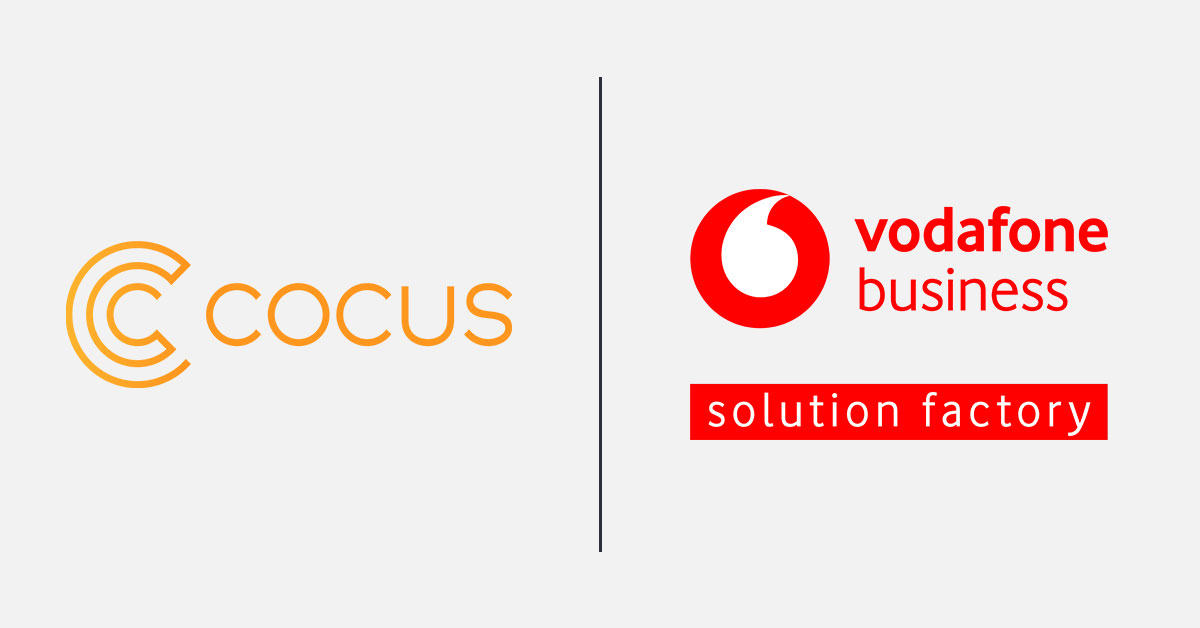 COCUS ist Vodafone Solution Factory Partner