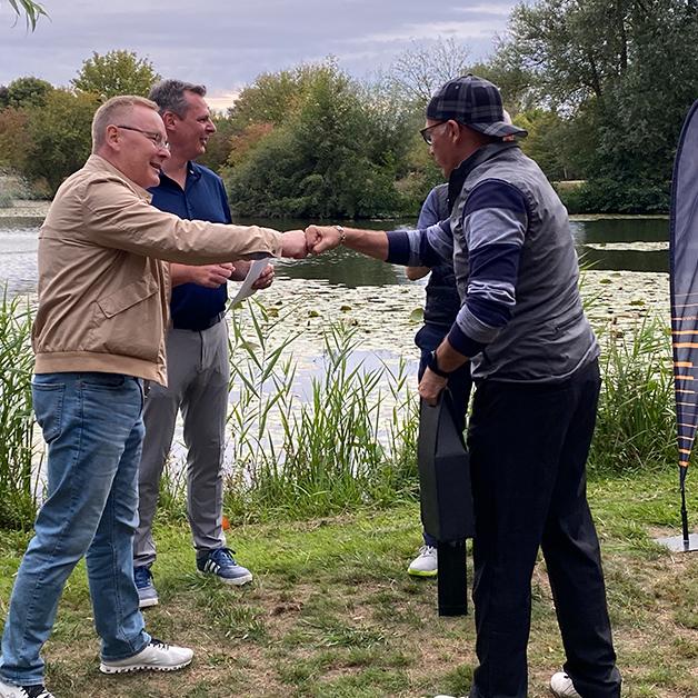 COCUS Golf Cup 2020 Siegerehrung auf Abstand