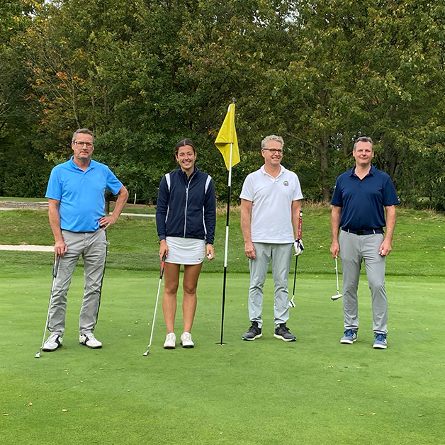 COCUS Golf Cup 2020 Winner Team 2