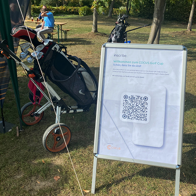 Inscribe at the COCUS Golf Cup 2020