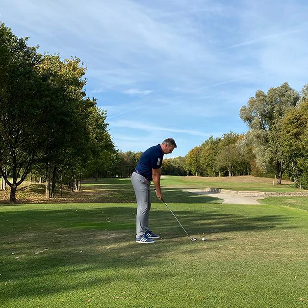COCUS Golf Cup 2020 Start Golfer Sascha Hellermann