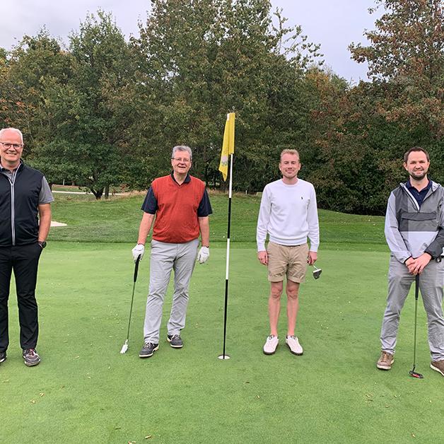 COCUS Golf Cup 2020 Winner Team 1