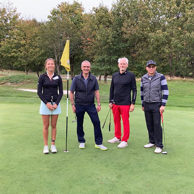 COCUS Golf Cup 2020 Start Golfende Gewinner 2