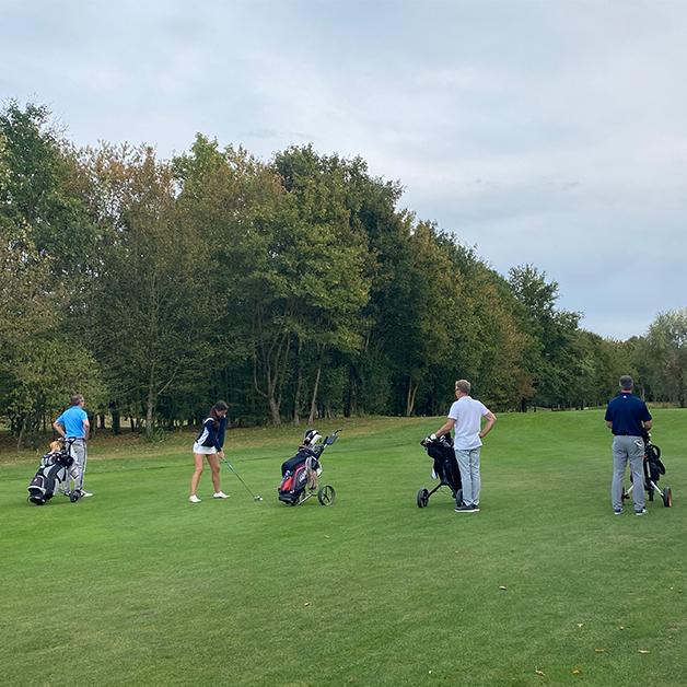 COCUS Golf Cup 2020 Start Golfen