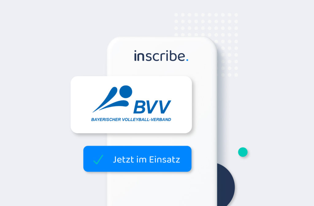 Der BVV nutzt Inscribe als digitale Teilnehmerliste