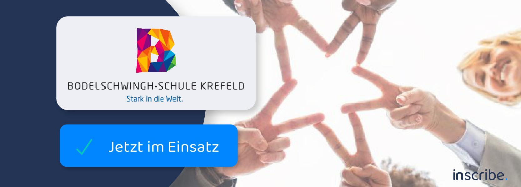 Bodelschwingh-Schule nutzt die digitale Anwesenheitsliste für die Sicherheit aller