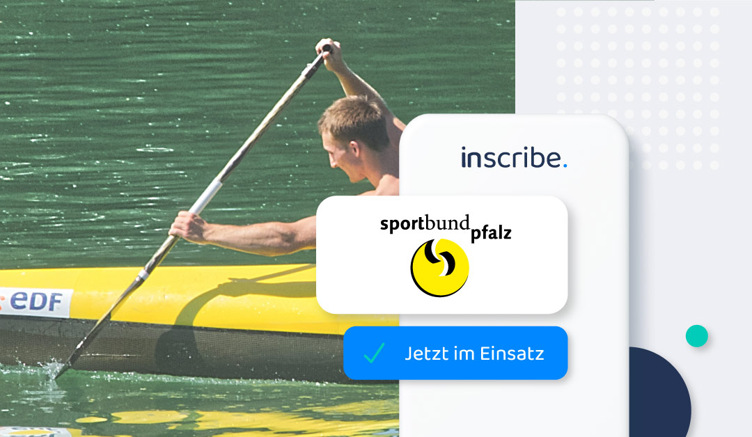 Sportbund Pfalz uses inscribe