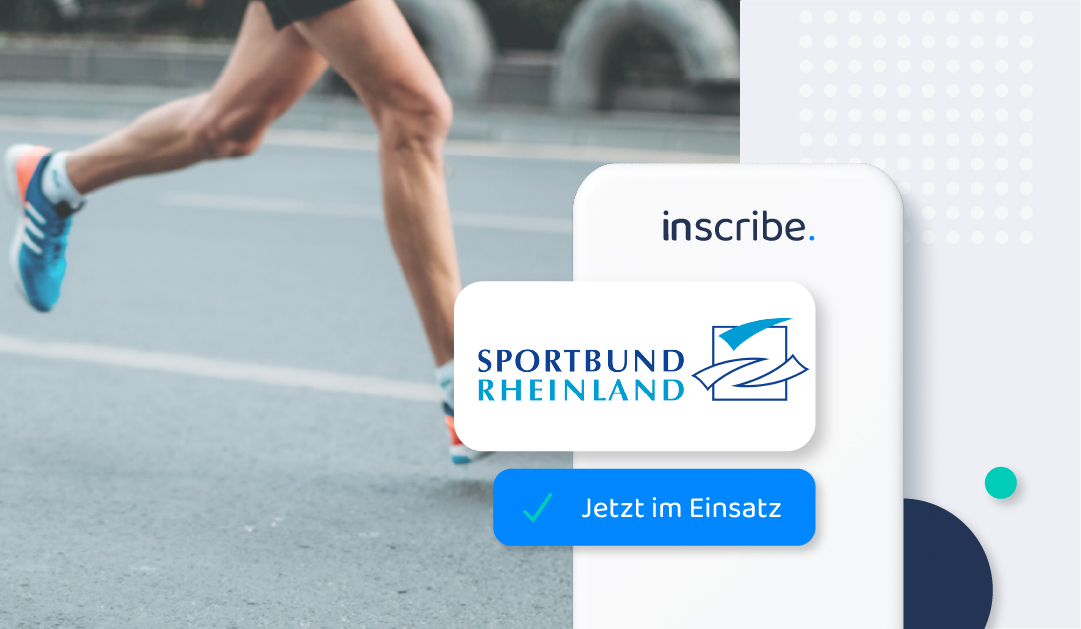 inscribe is being used at the sport association Rheinland