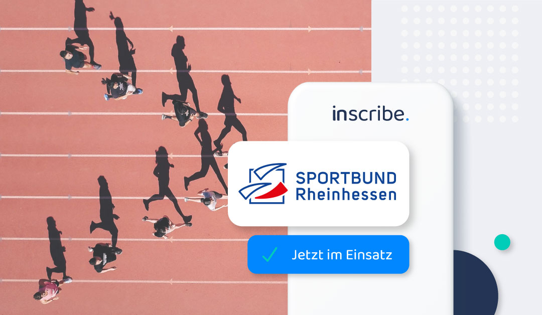 Sportbund Rheinhessen setzt inscribe ein