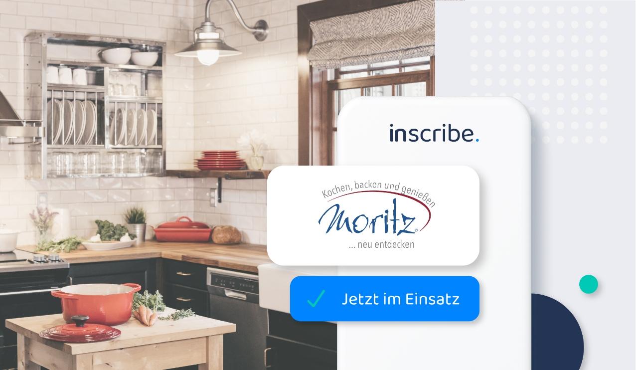 Inscribe beim Fachgeschäft Moritz