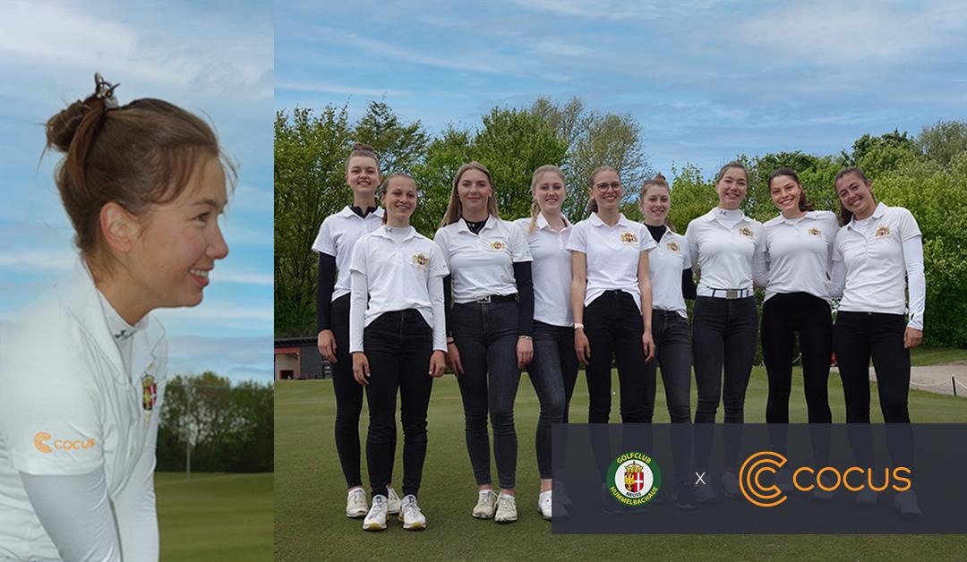 COCUS als Sponsor der Golf-Damen des Hummelbachaue